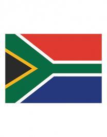 Fahne Südafrika